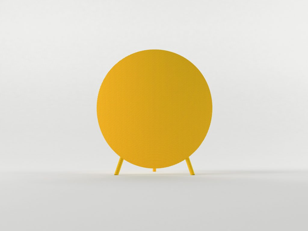 Hypetex Halo Chair yellow m-res